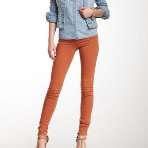 Joe's Jeans The Skinny Orange Jeans